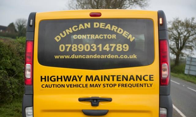 Duncan Dearden Van